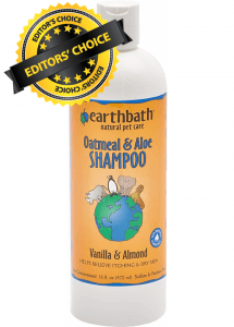 Wash your dog with Earthbath All Natural Pet Shampoo as it is our Editor's Choice
