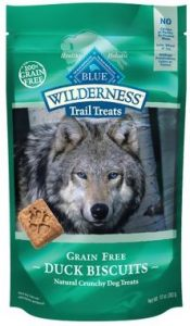 Blue Buffalo Wilderness Trail Treats Grain-Free Biscuits Crunchy Dog Treats