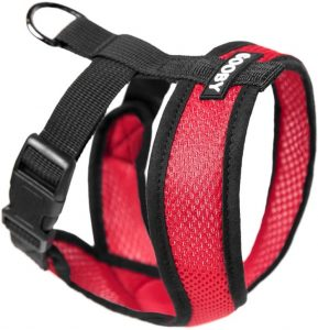 Gooby Dog Harness - Comfort X Head-In (Back leash attachment)