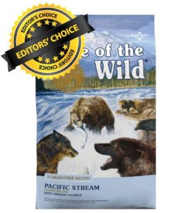 Editor's Choice For Dog Lovers To Get Taste of the Wild Pacific Stream Grain-Free For Their Little Friend To Reduce Excrement (Contains