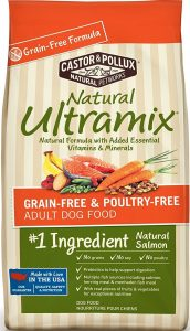 Natural Ultramix Grain-Free & Poultry Free, Salmon Meal