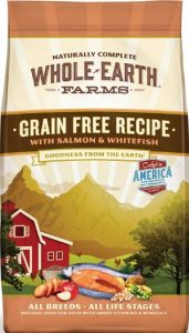 Whole Earth Farms Grain Free Recipes (Using veggies as their choice of carbohydrates, and is a great energy booster Pet Food)
