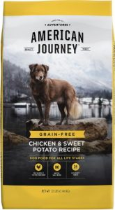 American Journey Dog Food, Chicken Protein & Sweet Potato Formula
