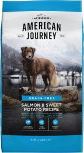 American Journey Salmon & Sweet Potato Ingredients