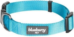 Blueberry Pet 22 Colors Classic Solid Color Collection Regular Collars Martingale Collars Personalized Collars or Seatbelts