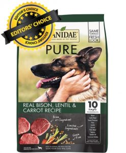 Canidae Pure Simple Ingredients