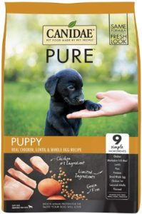 Canidae Pure Real Chicken Lentil Whole Egg Recipe Dry Dog Food Is A Great Choice For Puppy