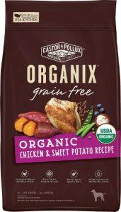 Castor Pollux Organix Grain Free Chicken Protein Sweet Potatoes