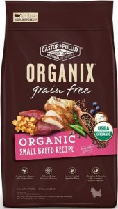 Castor Pollux Organix Grain Free USDA Organic Small Breed Recipe