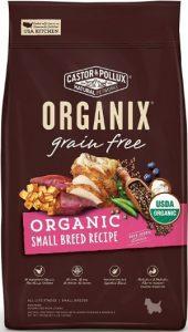 Castor Pollux Organix Grain Free USDA Organic Small Breed Recipe