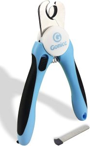 gonicc Dog Cat Pets Nail Clippers and Trimmers with Safety Guard