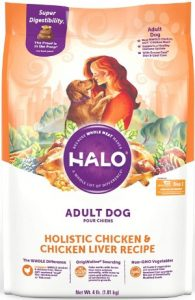 Halo Holistic Chicken Recipe Dry Dog Food For Adult