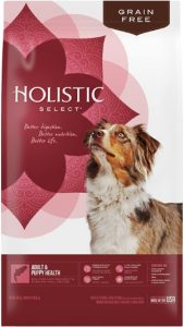 Holistic Select Grain Free Adult Puppy Salmon Protein Anchovy Sardine Meal Ingredients