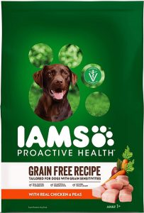 Iams Proactive Health Grain Free Recipe With RealChicken Peas
