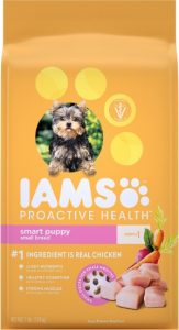 Iams ProactiveHealth For Smart Puppy Small Breed Real Chicken Protein