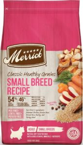 Merrick Classic Healthy Grains Adult Small Breed