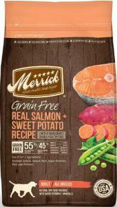 Merrick Grain Free Salmon Dog Food With Sweet Potatoes