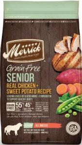 Merrick For Senior Dogs - Ingredients Chicken