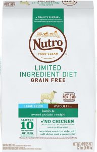 Nutro Grain Free Limited Ingredient Dog Food
