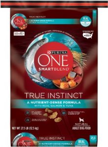 Purina ONE SmartBlend True Instinct Natural with Real Salmon Tuna Adult Dry Dog Food