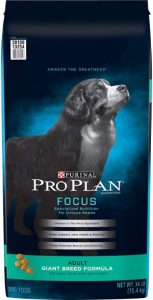 Purina Pro Plan Focus Dry Dog Food For Adult Giant Breed Formula 8th best for dogs