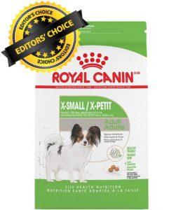 Editors Choice Is RoyalCanin Dry Dog Food X Small Adult Breed