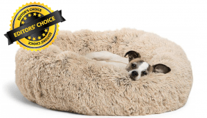 Editors Choice Goes to Best Friends by Sheri Calming Shag Vegan Fur Donut Cuddler