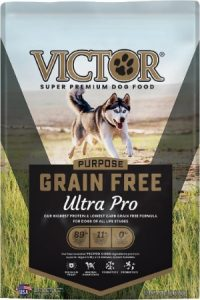 A Bag Of Victor Ultra Pro Grain Free Ingredients Pet Food For Dogs