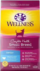 Wellness CompleteHealth Small Breed Deboned Turkey Protein Pea Ingredients For Senior