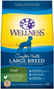 Wellness Complete Health For Large Breed Adult Deboned Chicken Protein Brown Rice Recipe Dry Food