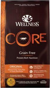 Wellness Core Grain Free Original Diet Dry Dog Food - Deboned Turkey, Turkey Meal & Chicken Meal Recipe (Protein)