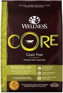 Wellness Core Grain Free Reduced Fat Formula Deboned Turkey Turkey Meal Chicken Meal Recipe Dry Dog Food