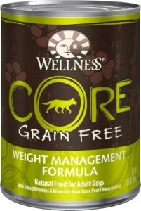 Wellness Core Grain Free Weight Management Formula Chicken meal wet food
