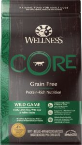 Wellness Core Wild Game Dry Dog Food 2nd best dog foods