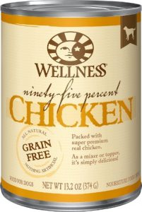 Wellness Ninety-Five Percent Chicken Canned Dog Food (Protein)