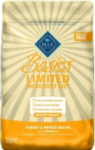 Sixth Best Dog Food - Blue Buffalo Basics LID For Healthy Weight