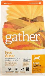 Gather Free Acres Recipe With Organic Free-Run Chicken Protein Meal