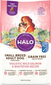 Halo Foods With First Ingredient - Salmon Meal (Also Contains Whitefish Source Of Protein)