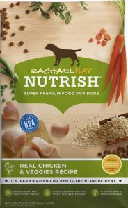 Rachael Ray Nutrish Super Premium Food For Dogs, Real Chicken Protein & Veggies Recipe