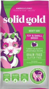 Solid Gold Grain Foods With Turkey Meal Protein & Vegetable Ingredients