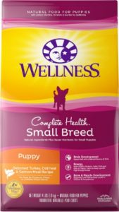 Wellness Complete Health Foods For Puppy - Turkey Ingredients Deboned