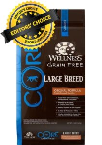 Our Recommendations For Best Cane Corso Diet Is Wellness Core Large Breed Original Formula Dry Food
