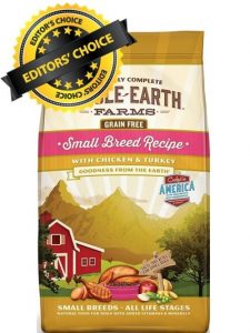 Whole Earth Farms Foods With Chicken Protein, Turkey Meal, and Sweet Potato Ingredients