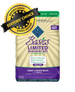 Blue Buffalo Basics Grain-Free Recipe For Adult Dogs
