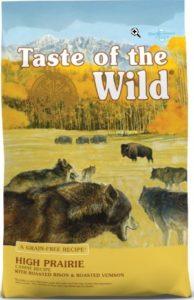 Taste of the Wild High Prairie Sweet Potatoes Peas - Fiber