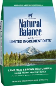 Natural Balance Limited Ingredients Dry Dog Food For Adult Dogs