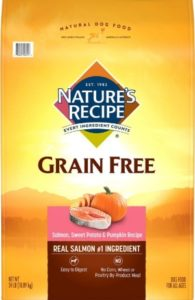 Nature's Sweet Potato Recipe Grain-Free Dry Dog Food Ingredients