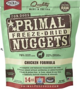 Primal Pet Foods Freeze-Dried Nuggets