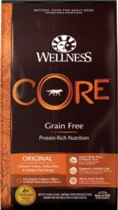 Wellness CORE Turkey Meal Chicken Meal Recipe Dry Dog Food Ingredients
