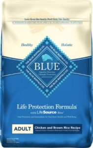 Blue Buffalo chicken meal dry food for basset hound diet for dogs